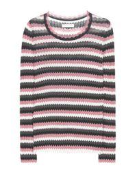 Étoile Isabel Marant | Multicolor Adelaide Chevron Cotton Sweater | Lyst
