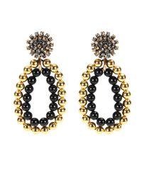 Marni | Metallic Embellished Clip-on Earrings | Lyst
