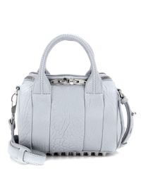 Alexander Wang | Blue Mini Rockie Leather Tote | Lyst