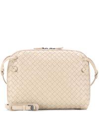 Bottega Veneta | Natural Intrecciato Leather Shoulder Bag | Lyst