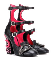 Gucci | Multicolor Queercore Embellished Leather Ankle Boots | Lyst
