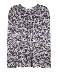 Dorothee Schumacher | Blue Soulful Thrill Printed Blouse | Lyst