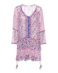 Poupette | Pink Bobo Mini Dress | Lyst