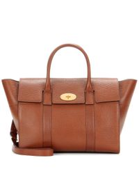 Mulberry | Brown Bayswater Leather Shoulder Bag | Lyst