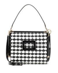 Roger Vivier | Black Miss Viv Small Leather Shoulder Bag | Lyst