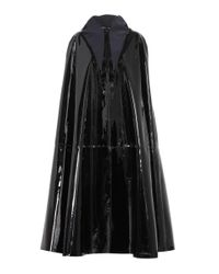 Balenciaga | Black Cape Coat | Lyst