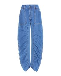 Stella McCartney | Blue Xenia Oversized High-rise Jeans | Lyst