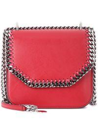 Stella McCartney - Red Falabella Box Mini Shoulder Bag - Lyst