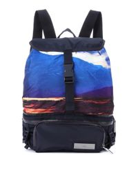 Adidas By Stella McCartney - Blue Convertible Backpack - Lyst