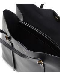 Polo Ralph Lauren - Black Lennox Leather Tote - Lyst