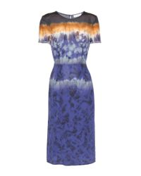 Altuzarra - Purple Glaze Printed Silk Dress - Lyst