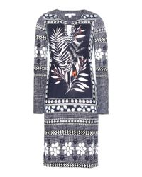 Diane von Furstenberg - Multicolor Reina Printed Silk Jersey Dress - Lyst