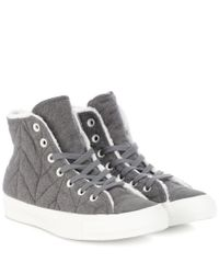 Converse - Gray Chuck Taylor All Stars Sneakers for Men - Lyst