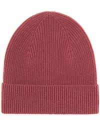 Isabel Marant - Red Chilton Cashmere Beanie - Lyst
