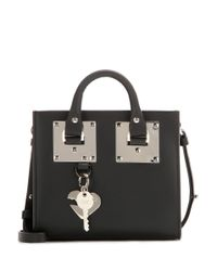 Sophie Hulme - Black Box Albion Leather Shoulder Bag - Lyst