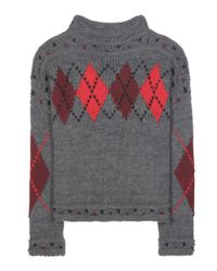 Isabel Marant - Gray Wool And Alpaca Sweater - Lyst