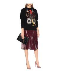 Givenchy - Black Printed Cotton Sweatshirt - Lyst