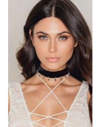 Vanessa Mooney | Metallic The Sofia Choker | Lyst