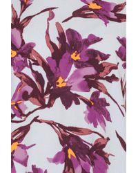 Samsøe & Samsøe - Purple Boise Dress Aop - Lyst