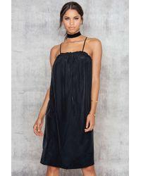 NA-KD | Black Cross Strap Dress | Lyst