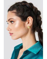 NA-KD - Yellow Colored Diamond Earrring - Lyst