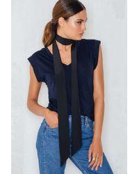 Filippa K   Blue Summer V-neck Tee   Lyst