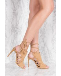 NA-KD - Multicolor Side Lacing High Heel - Lyst