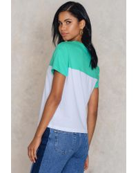 Colourful Rebel - Blue Tomboy Tee - Lyst