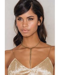 NA-KD | Black Beaded Necklace | Lyst
