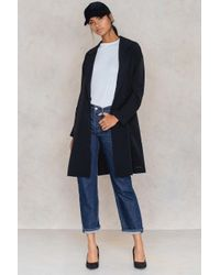 Calvin Klein - Black Borino Long Blazer - Lyst