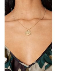 NA-KD - Metallic Zodiac Scorpio Necklace Gold - Lyst