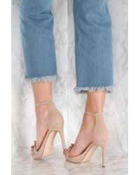 NA-KD - Blue Heels With Frills - Lyst