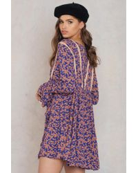 Free People - Purple Like You Best Mini Dress - Lyst