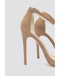 NA-KD - Natural The High Heel - Lyst