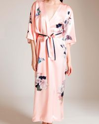 Meng | Pink Butterfly Lovers Kimono Robe | Lyst