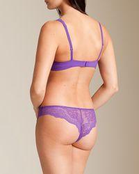 Simone Perele - Purple Queen Triangle Bra - Lyst