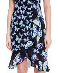Nanette Lepore | Black Mariposa Dress | Lyst