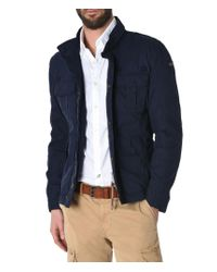 Napapijri | Blue Mid-length Jacket for Men | Lyst