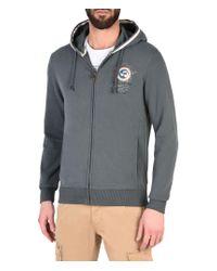 Napapijri   Gray Full Zip Fleeces for Men   Lyst
