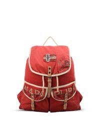 Napapijri | Red Backpack for Men | Lyst