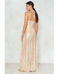 Nasty Gal   Metallic Sequin Maxi Dress Sequin Maxi Dress   Lyst