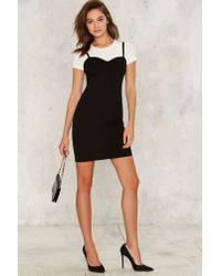 Nasty Gal | Black Paramour Bodycon Dress | Lyst