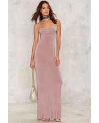 Nasty Gal - Pink Katia Maxi Dress - Lyst