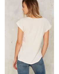 Nasty Gal | Multicolor Lna Valley Distressed Tee | Lyst