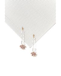 Nasty Gal | White Embellished Safety Pin Earrings Embellished Safety Pin Earrings | Lyst