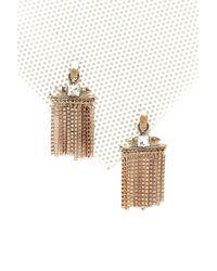 Nasty Gal - Metallic Metal Tassel Statement Earrings Metal Tassel Statement Earrings - Lyst