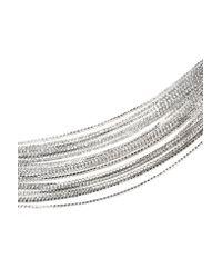 Nasty Gal - Metallic To Top It All Diamante Choker - Lyst