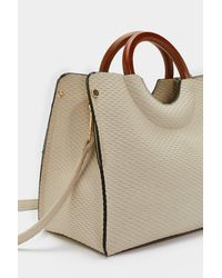 Nasty Gal - Multicolor Want Can You Handle This Woven Bag - Lyst