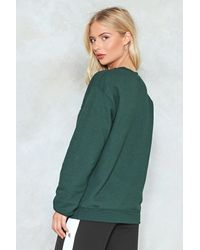 Nasty Gal - Green Get Shit Done Get Shit Done - Lyst
