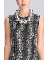 Natori - Metallic Josie Acacia Wood Necklace - Lyst